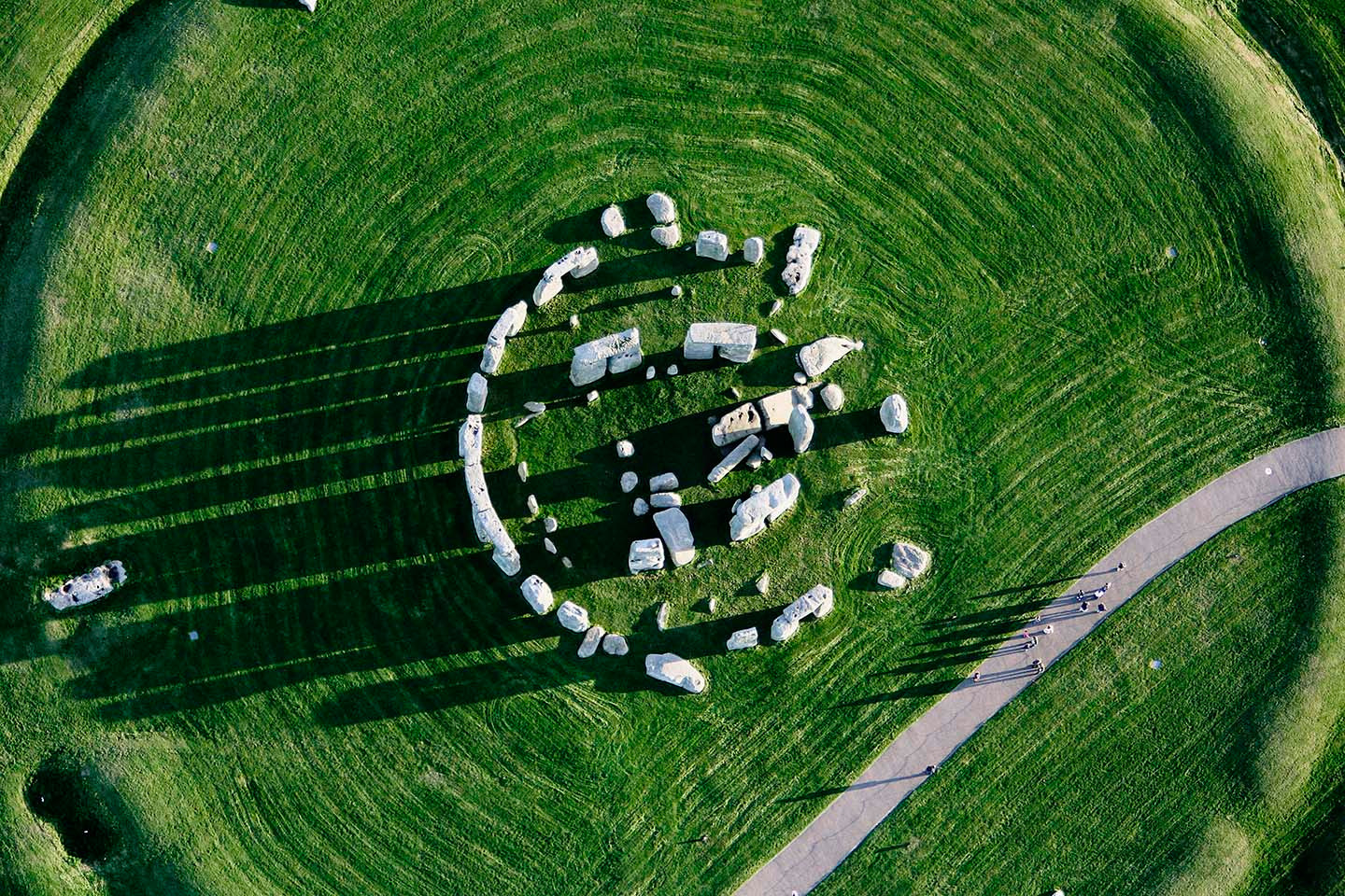 Stone Henge: An Aerial View